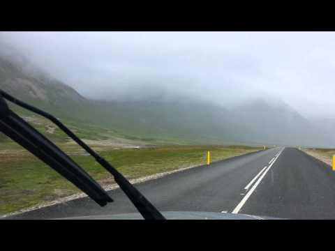 On highway 94 toward Borgarfjörður Eystri, Iceland