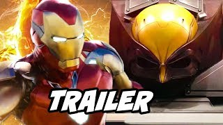Avengers Endgame Deleted Scenes - Marvel Phase 4 Comic Con Trailer Breakdown