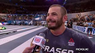 Mat Fraser Clean Ladder 2019 Reebok CrossFit Games