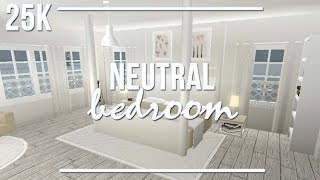 ROBLOX | Welcome to Bloxburg: Neutral Bedroom 25k