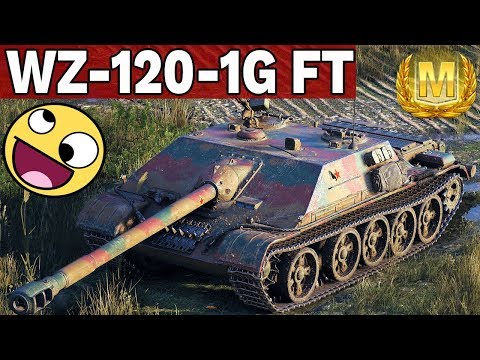 SOLIDNY I NIEBEZPIECZNY - WZ-120-1G FT - World of Tanks thumbnail