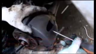 замена передних тормозных колодок на опель астра н
