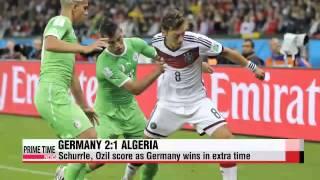 Video World Cup: Germany 2:1 Algeria download MP3, 3GP, MP4, WEBM, AVI, FLV Agustus 2018