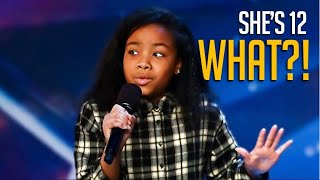 WOW! She's Just 12 Years Old But... Watch What Simon Does After She Opens Her Mouth!