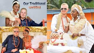 OUR TRADITIONAL NIGERIAN WEDDING | IGBO / EDO MARRIAGE | Jack & Jane