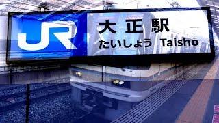 のんびり気ままに鉄道撮影116 JR大正駅編 West Japan Railway Company TaishoStation