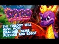 Spyro Reignited Trilogy Will Have More Dragons, Eggs, Gems, Puzzles & Easier Way To Switch Games