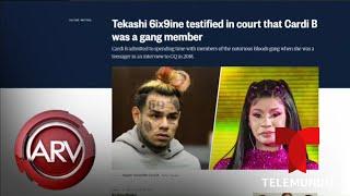 Cardi B reacciona a declaraciones de Tekashi 6ix9ine | Al Rojo Vivo | Telemundo