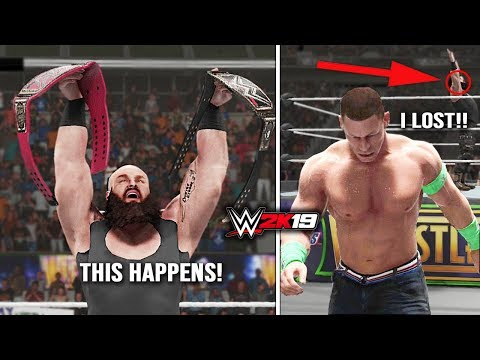 WWE 2K19 Universe Mode -This Will Happen at Mania If You Are Royal Rumble Winner & Mr MoneyInTheBank