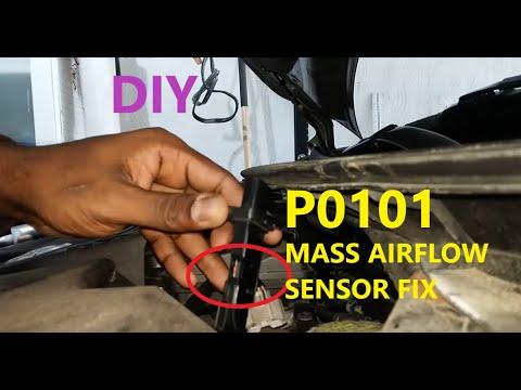 2013 - 2018 Nissan Altima code P0101 mass air flow sensor DIY Fix
