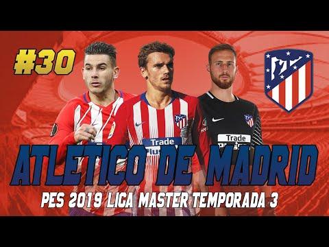 PES 2019 LIGA MASTER   ATLÉTICO DE MADRID   GOLEADA EUROPEA #30