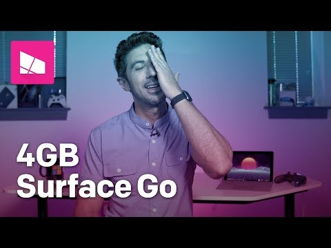 The TRUTH About The $399 Surface Go 4GB