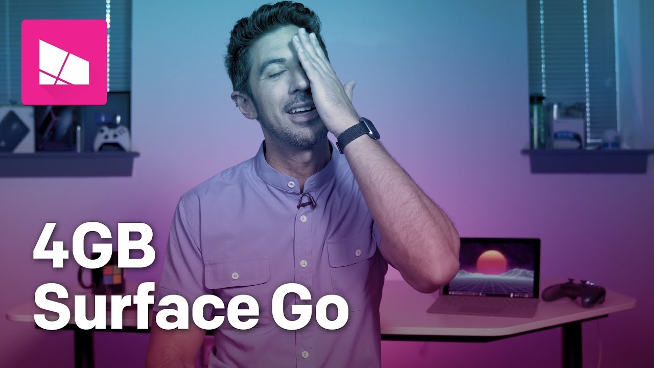 The Truth About The 399 Surface Go 4gb Youtube