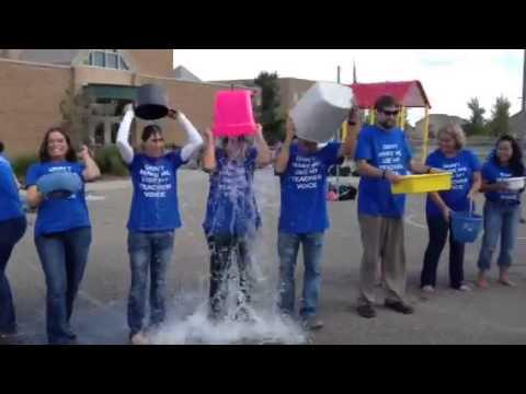 West Ridge Elementary Ice Bucket Challenge.