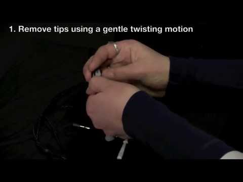 Westone Series - How To Clean
