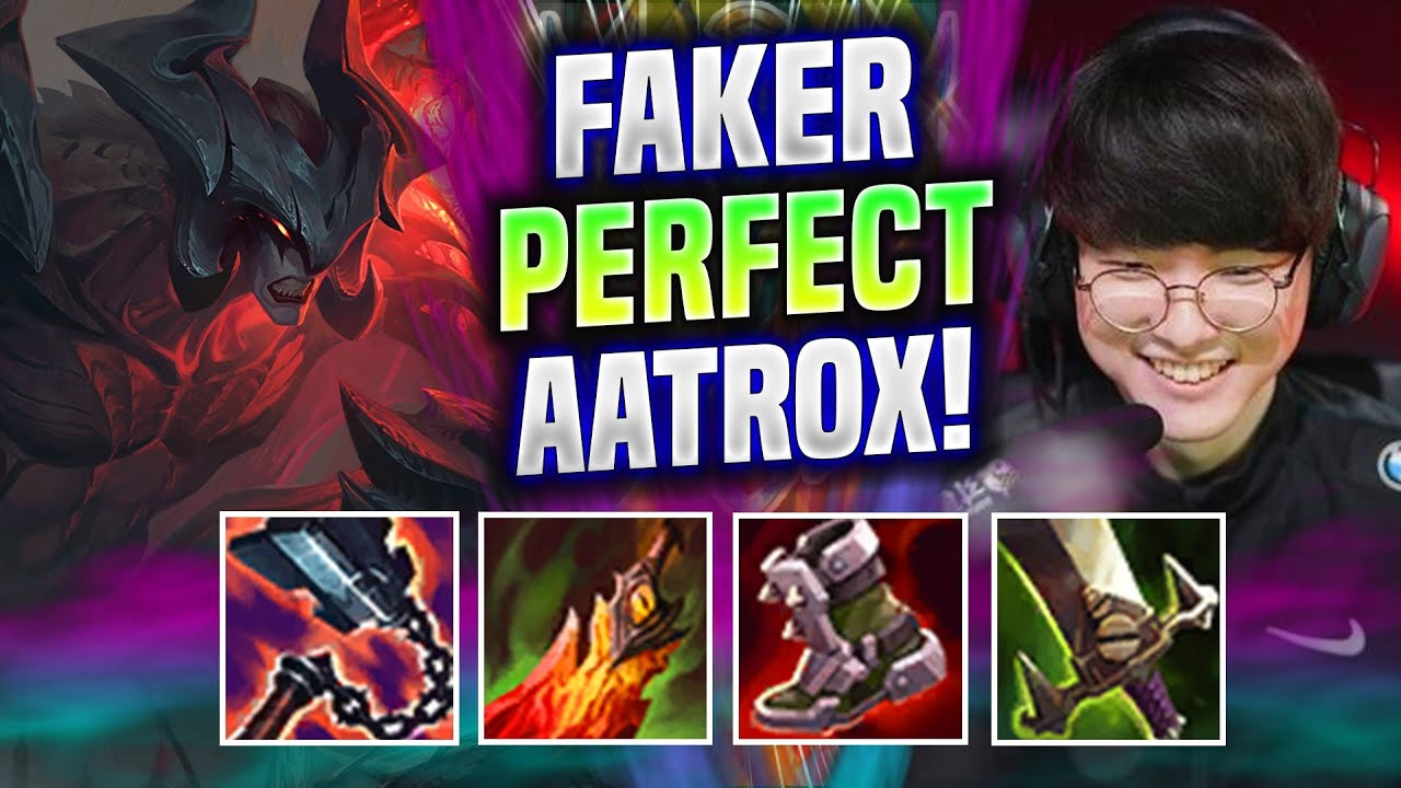 FAKER AATROX SUPER COUNTER SYLAS! - T1 Faker Plays Aatrox MID vs Sylas!   T1 Faker Replay