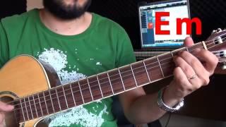 Gitar Dersi - Kanatlarım Var Ruhumda - Nil Karaibrahimgil