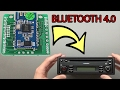 In this video I'll be documenting how I integrated the CSR8645 Bluetooth Module into a Blaupunkt Car Stereo. Purchase links below: Bluetooth 4.0 Audio ...