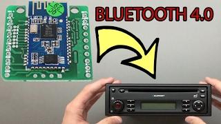 Het Toevoegen van Bluetooth 4.0 naar Een autoradio voor 12$ ! Complete Gids !