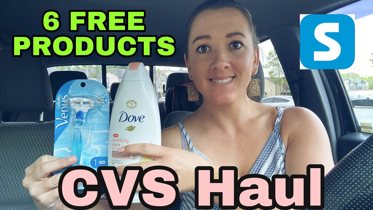 CVS Haul - 6 Free Products! 3/28-4/3/2021