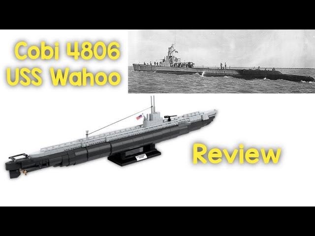 Cobi 4806 USS Wahoo - Review [Deutsch/German]