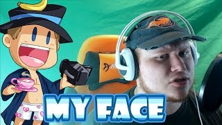 MY FACE! - Recording Character Line (My Street Garroth)
