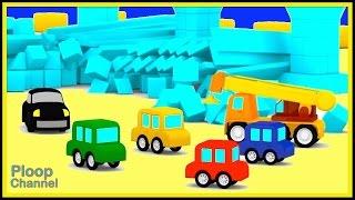 Çizgi film Arabalar Şehir - ÇILGIN ARABALAR ŞUT! Çocuklar için Çizgi film yapımı - Çocuk Arabalar Karikatürler