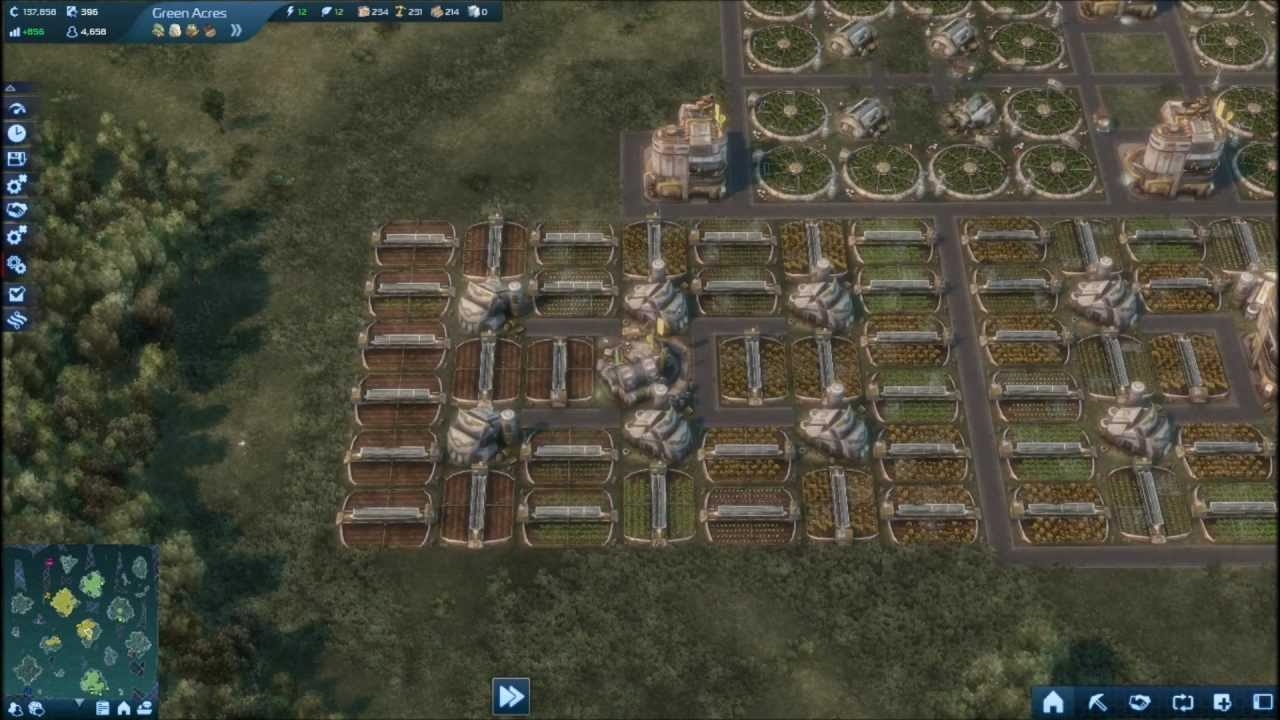 Anno 2070 vegetable farm layout youtube for Anno 2070 find architect