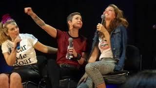 NJ Con 2017 Pt2 Briana Buckmaster, Kim Rhodes, Alaina Huffman, Ruth Connell, Emily Swallow