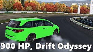 Forza Motorsport 7: 900 HP, Twin Turbo Honda Odyssey DRIFT VAN! NEW DLC PACK
