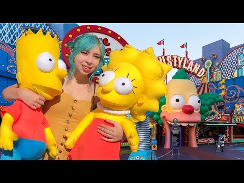 SIMPSONS CARNIVAL GAME WINS AT UNIVERSAL STUDIOS HOLLYWOOD