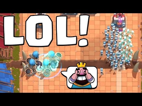 TROLLEN IN ARENA 2! || CLASH ROYALE || Let's Play CR [Deutsch/German HD+]