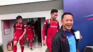 Thầy Park trả lời phỏng vấn - Quang Hải là đội trưởng ở SEA Games