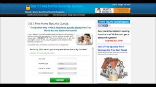 Home Security Company Quotes