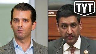 Ro Khanna Exposes Donald Trump Jr's Crimes