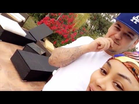 Blac Chyna & Rob Kardashian | Snapchat Videos | May 2016 | ft Kylie Jenner