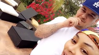Blac Chyna & Rob Kardashian | Snapchat Videos | May 2016 | ft Kylie Jenner