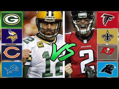 NFC North All-Stars vs NFC South All-Stars (Best Division in The NFL Game 1) Madden Tournament