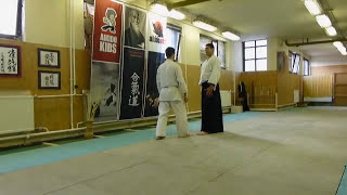 munadori yonkyo ura [TUTORIAL] Aikido empty hand basic technique