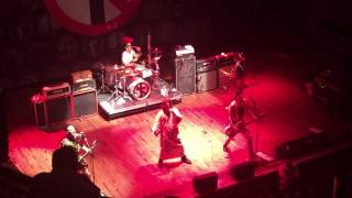 "Bad Religion ""Fields of Mars"" at House of Blues in Houston, TX on 4/3/2015"