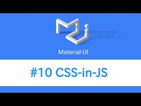Learn React & Material UI - #10 CSS-in-JS - YouTube