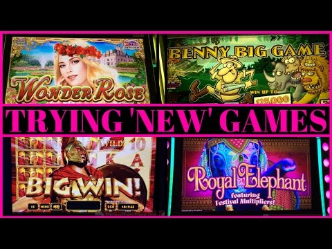 Trying 'NEW' Games✦Theme Thursdays ✦ Live Play Slot Machine Pokies in SoCal - 동영상