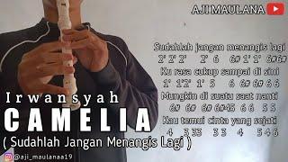 Not Angka IRWANSYAH - CAMELIA (Recorder Cover By Aji Maulana)