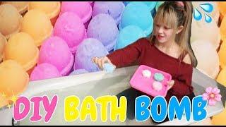 NYELUP :D WOWWW DIY BATH BOMB - PERTAMA KALI BIKIN BATH BOMB SENDIRI BERHASIL & GAMPANG (SCENTED)