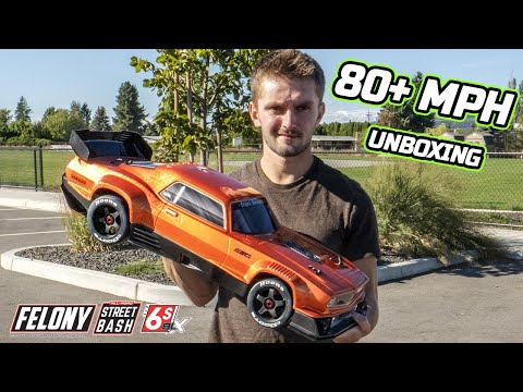 ARRMA Felony 6S Street Basher Unboxing and First Run