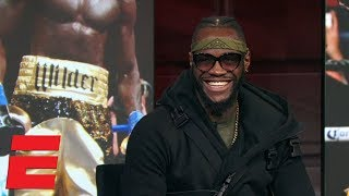 Deontay Wilder 'will knock out' Tyson Fury in heavyweight title fight | SportsCenter