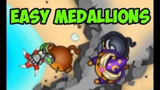 Easy Strats - Easy Medallions E4 - LEARN TO WIN! Video