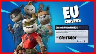 CUSTOMS - STREAM SNIPING IS A NO NO - GIFTING @150 LIKES (FORTNITE LIVE)