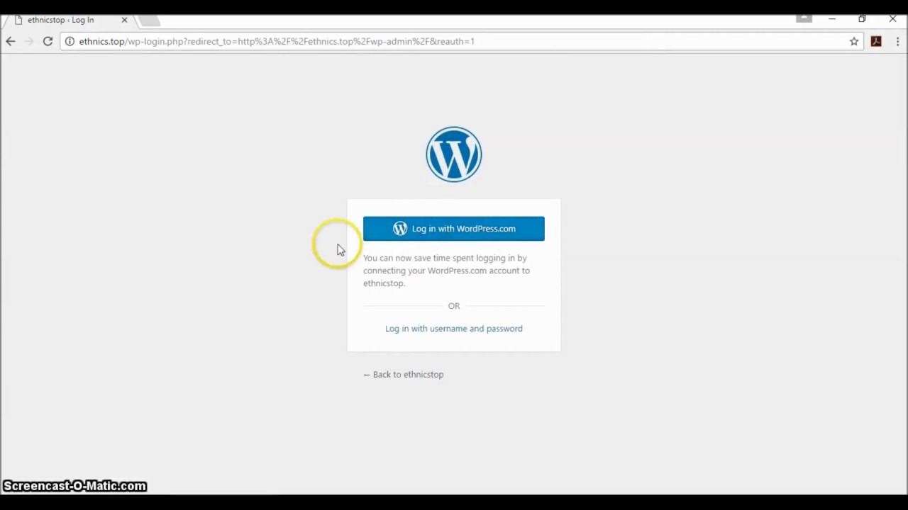 How to Login to Multiple WordPress Websites with Jetpack Single Sign On