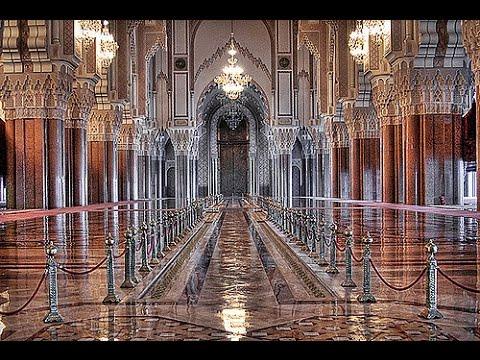 Inside Grande The Hassan II of Casablanca Morocco